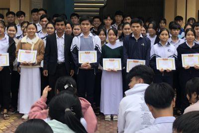Kết quả kỳ thi học sinh giỏi cấp trường khối 11 năm học 2020-2021